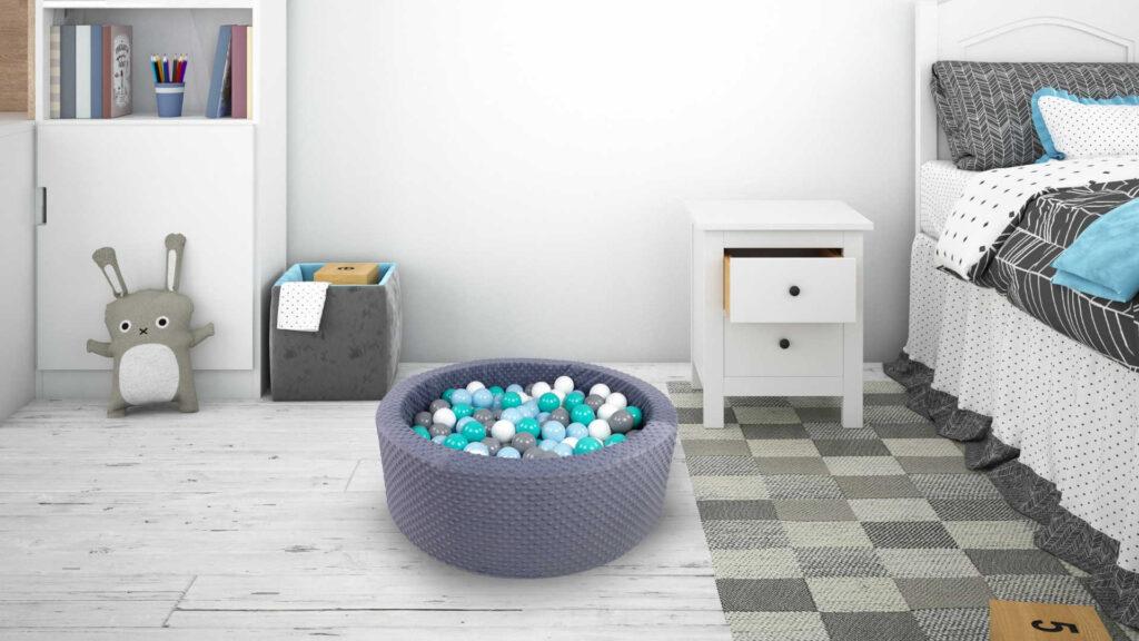 Suchy basen z kolorowymi kulkami – na co zwrócić uwagę podczas zakupu